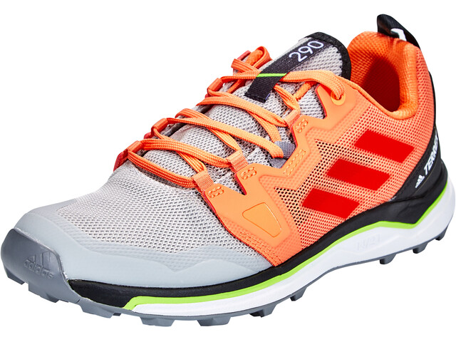 adidas TERREX Agravic Trail Running Shoes Women grey two/glory amber/amber tint